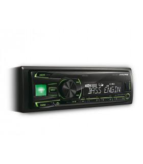 Alpine UTE-81R RADIO CU USB, VERDE