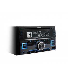 Alpine CDE-W296BT 2DIN RADIO CD/USB/BLUETOOTH, MULTICOLOR