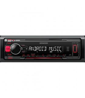 KENWOOD KMM-103RY RADIO CU USB, ROSU