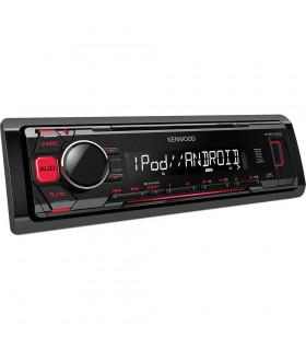 KENWOOD KMM-203, RADIO CU USB, ROSU