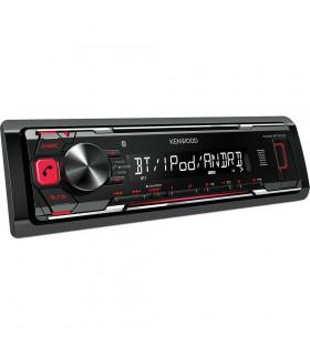KENWOOD KMM-BT203 RADIO CU USB/BLUETOOTH, ROSU