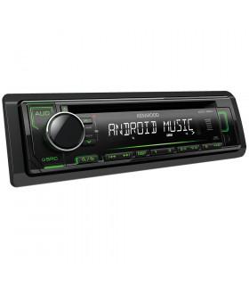 KENWOOD KDC-120UG RADIO CD/USB, VERDE