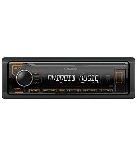 KENWOOD KMM-104AY RADIO CU USB, PORTOCALIU